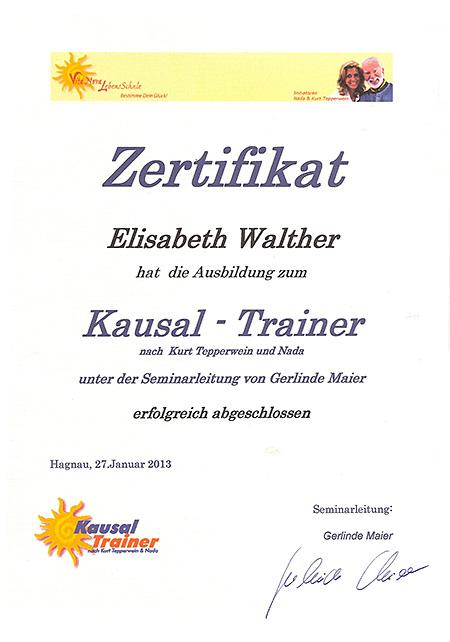 Kausal Trainer